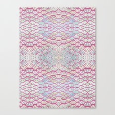 scales and dots Canvas Print