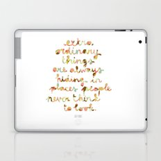 Extraordinary things Laptop & iPad Skin