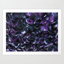 Purple Pond Art Print