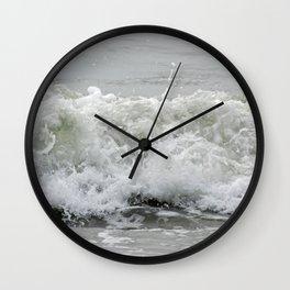 Crashing Wave Wall Clock