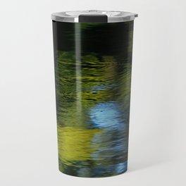 Reflection in Green Travel Mug