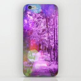 Glimmer Trail iPhone Skin