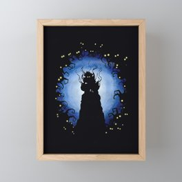 Deep heartless Framed Mini Art Print