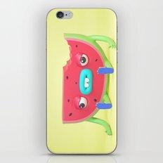 Watermelon dude iPhone & iPod Skin