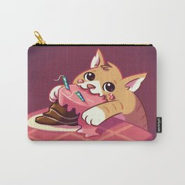 Cake Cat Doodle Carry-All Pouch