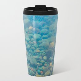 With Calm Comes Clarity Travel Mug