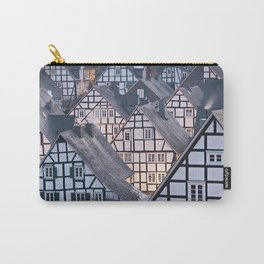 Historic half-timbered houses of Germany Carry-All Pouch