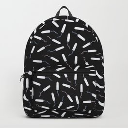 Tampon time, Periods and PMS in Black Backpack