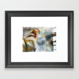 The Last Dance, dancer Framed Art Print