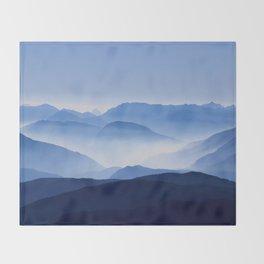 Mountain Shades Throw Blanket