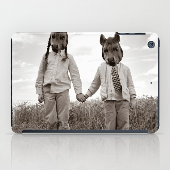 Sister and Brother iPad Case