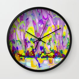 Abstraction of light Wall Clock