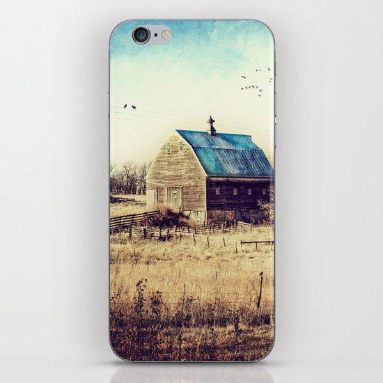 Interlude in Blue iPhone & iPod Skin