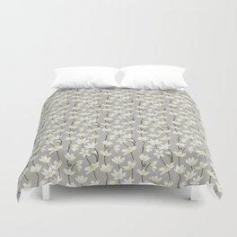 Anemone - Grey Duvet Cover