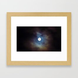 Supermoon Framed Art Print