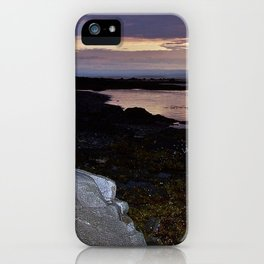 Rock Faced Sunset iPhone Case