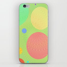 Re-Created Twisters No. 1 by Robert S. Lee iPhone Skin