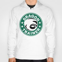 hiccup Hoodies featuring Dragon trainer by Ainy A.