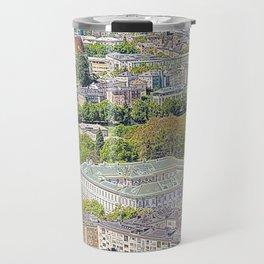 Austria - drawing Salzburg 1 Travel Mug