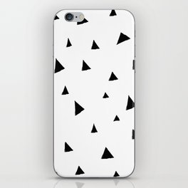 Disorganized Triangles iPhone Skin
