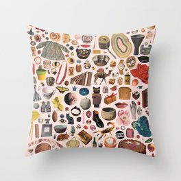 TABLE OF CONTENTS II Throw Pillow