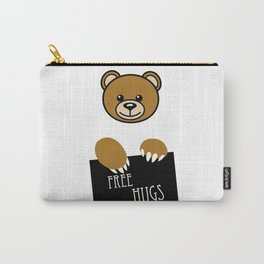 Free Hugs Moschino Carry-All Pouch