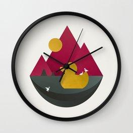 Duck Dance Wall Clock