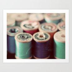 spools Art Print