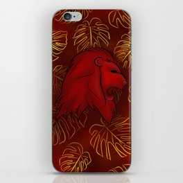 Bravery and Courage iPhone Skin