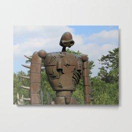Laputan Robot I Metal Print