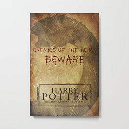 The Chamber of Secrets Metal Print