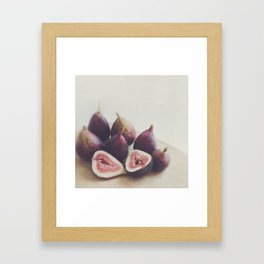 A Little Figgy Framed Art Print