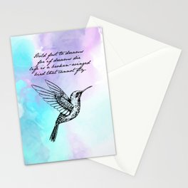 Langston Hughes - Hold Fast to Dreams Stationery Cards