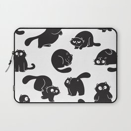 Those Adorable Black Cats Laptop Sleeve
