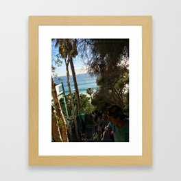 Lovely Laguna  Framed Art Print