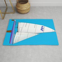 470 Olympic Sailboat Rug