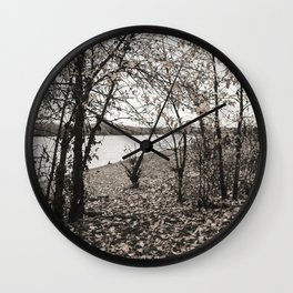 Untitled Landscape Wall Clock