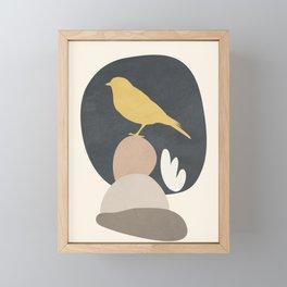 Cute Little Bird II Framed Mini Art Print