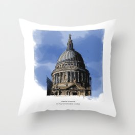 St Paul's Catherdral, London. Throw Pillow