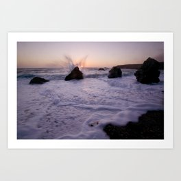 Angel Wings On The Pacific Art Print