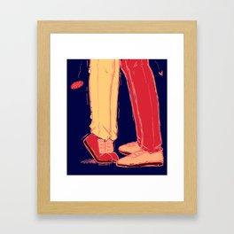 teen!au jongho Framed Art Print