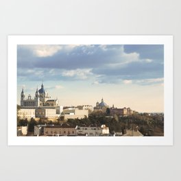 A window to Madrid II Art Print