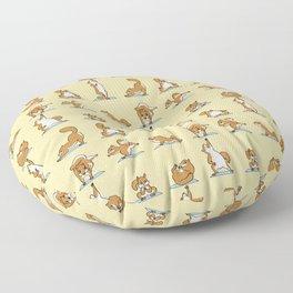 Squirrel Yoga Floor Pillow
