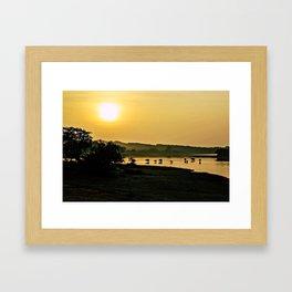 Sri Lankan Safari Framed Art Print