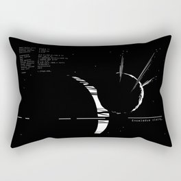 Enceladus rising_ Rectangular Pillow