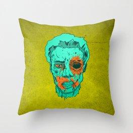 Zombie Thump! Throw Pillow