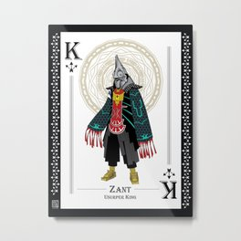 Zant - Hylian Court Legend of Zelda Metal Print