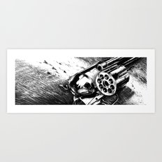 A bullet for everyone Art Print