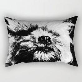 St: Simeon Griffon Bruxellois 7 Rectangular Pillow