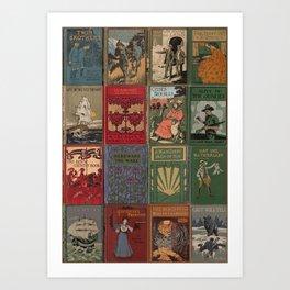 The Golden Age of Book Design Art Print